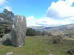 Part of Cashelkeelty stone circle.walking trail