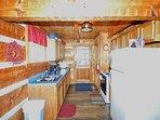 Kitchen w/Washer and Dryer