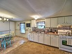 Whip up home-cooked favorites in this fully equipped kitchen.