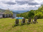 25 Private acres.  Many hiking trails.