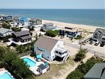 Arial View of the Beach House!