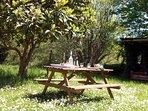 Table à picnic pour vos repas en extérieur.