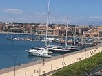 La Marina, walking distance from the apartment