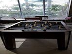 Foosball in the Entertainment Room