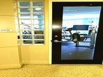 The Door to the Fitness Center in the Lobby