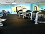 Fitness Center with New Machines