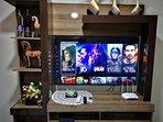 Smart Tv de 50' con wifi y Netflix