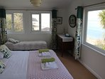 Sea Views on all sides from Master bedroom