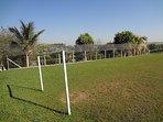 Um ótimo campo de futebol