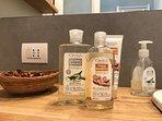 Offriamo prodotti da bagno biologici e di qualità .