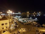il porto visto dalla torre carlo v a Porto empedocle