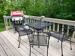 Back Deck with Recently Added Weber Propane Grill