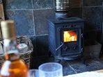 Lovely wood burning stove