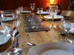 Dining table for 7
