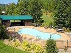 Resort Pool at God's Country