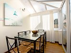 Conservatory/breakfast room opening onto terrace