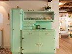 Our beloved vintage mid-century cupboard
