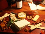Our complementary cheese platter