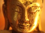 A calming Buddha from Myanmar