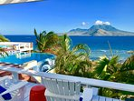 Relax and enjoy beautiful unobstructed views from many sitting areas around the villa.