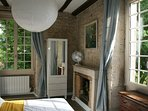 Cheerful double or twin bedroom