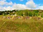 Les lodges Collinéa sont isolées du reste du Domaine pour vous assurer détente et quiétude