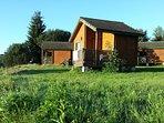 Le chalet-bungalow bois Olga pour 5 personnes
