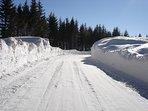 Accédez à la station de ski alpin et nordique de Saint-Urcize