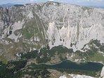 Škrčko lake from the Prutaš peak