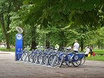 Rent a bicycle near by
