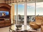 Living Room -  Waters Edge Resort 313 Fort Walton Beach Okaloosa Island