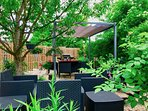 Cool off on hot summer days!  Pergola for shade on hot summer days