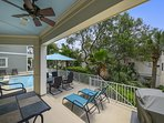 Covered Pool Deck