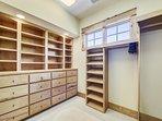 2nd Floor Master Closet