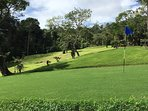 Professionally manicured Bermuda Grass Greens.  Nominal extra fees may apply. Totally PRIVATE