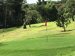 Enjoy our walking course. Top quality manicured bermuda greens/fairways. We have golf clubs/balls