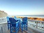 Deck view- Ocean side