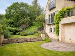 The wonderful garden surrounds the property, providing plenty of space to relax and unwind