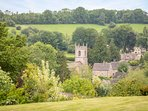 With stunning views of the Cotswold countryside