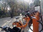 Free bike station very close!