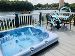 Large hot tub for you to enjoy