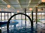 Indoor splash park