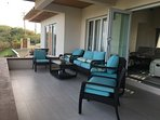 Deck over pool