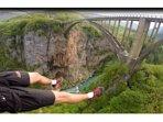 Tara bridge - Zip lining