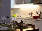 La Corte di Zizi, appartamento 'Riva: la cucina