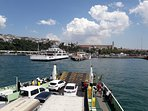 Harem-Sirkeci FeryBoats With walk  5-6 Minute.