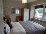 Front bedroom overlooking towards park & river
