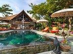 Welcome to Villa Niyati. Seaside with pool, sundeck and patio