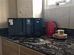 Microondas Samsung y Caldera dual Ariston