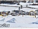 Location sulla pista di sci di San Rocco, Skilift nr 17, collegato con il Carosello 3000